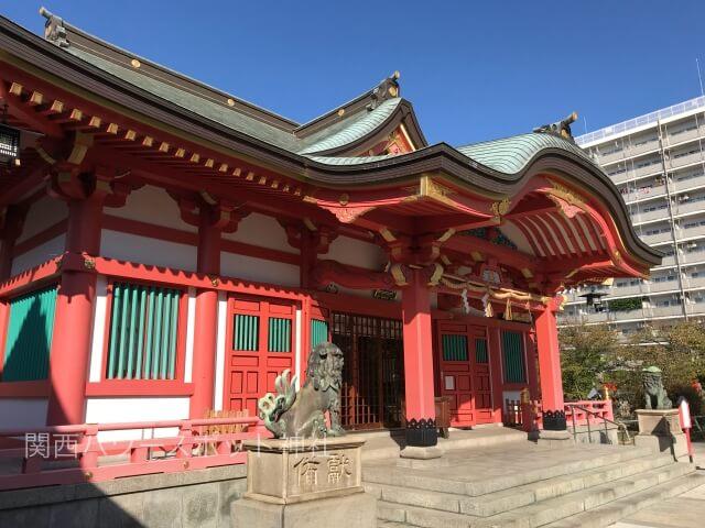 土佐稲荷神社拝殿